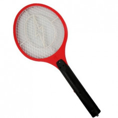 Cumpara ieftin Paleta electrica anti-insecte si muste, rosu, Gonga