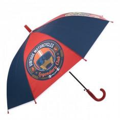 Umbrela pentru baieti, automata Full Throttle 80 cm Multicolor