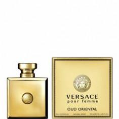 Apa de parfum Versace Pour Femme Oud Oriental, 100 ml, pentru femei