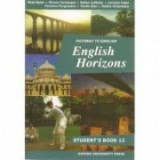 Manual de limba engleza pentru clasa a XII-a, English Horizons: Student's Book