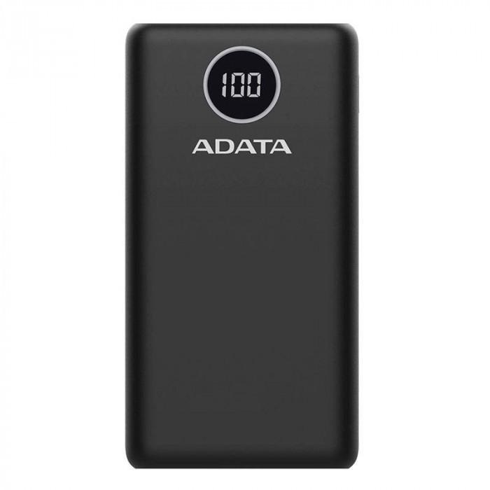 Acumulator extern A-DATA P20000QCD 20000 mAh Black