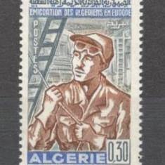 Algeria.1968 Emigrarea in Europa  SX.173