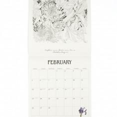 Floribunda 2018 Colouring Calendar | Laurence King Publishing