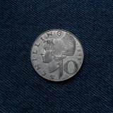 1m - 10 Schilling 1969 Austria / argint / cel mai mic tiraj la acest tip, Europa