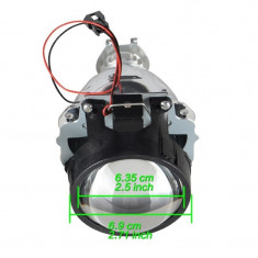 Lupe faruri set Bi-Xenon H1 2.5 inch