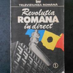 REVOLUTIA ROMANA IN DIRECT. TELEVIZIUNEA ROMANA