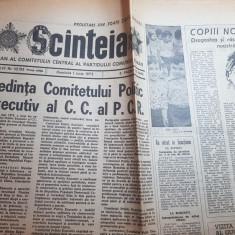 scanteia 1 iunie 1975-ziua copilului ,combinatul petrochimic brazi