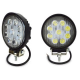 Proiector LED auto offroad 27W 10-30V pentru ATV, 4x4, SUV, Spot Beam 30°