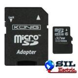 Card de memorie micro SDHC 32 GB Konig