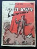 Almanah 1950 Cuplete si scenete humoristice