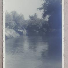 IN BALTILE BRAILEI , LA RUSAVA , FOTOGRAFIE TIP CARTE POSTALA , MONOCROMA, NECIRCULATA , DATATA MAI 1934
