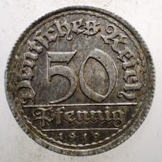 1.512 GERMANIA WEIMAR 50 PFENNIG 1919 E