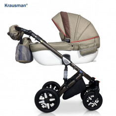 Krausman - Carucior 3 in 1 Jools Eclipse Light Kaki