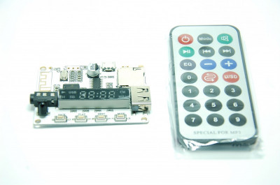 Modul USB, Micro SD, Bluetooth, FM, MP3 foto