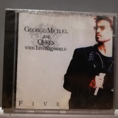 GEORGE MICHAEL and QUEEN - FIVE LIVE (1993/EMI/GERMANY) - ORIGINAL/Nou/Sigilat