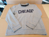 Bluza bumbac pentru barbati , masura M , Chicago / C62, Gri