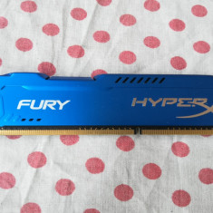Memorie Kingston Ram HyperX Fury Blue 4 GB (1 X 4 GB) 1600Mhz.