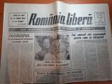 Ziarul romania libera 31 iulie 1990-articol despre sapanta