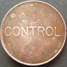 Jeton Telefonic Control - ROMANIA   *cod 2365
