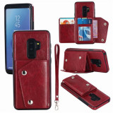 Portofel elegant, de lux, pentru telefon, o husa cu deschidere, ideala si pentru carduri, pentru Samsung s9/9 plus/Note8, pentru iPhone X 8P 8 7P 7 6P