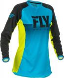 Cumpara ieftin Bluza off-road FLY RACING Women s Lite culoare albastru fluorescent galben, marime M