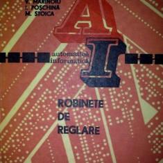 """V. Marinoiu - Robinete de reglare """"4890"""""""