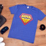 """Cumpara ieftin Tricou personalizat tata """"Superman"""" (Marime: M, Marime imprimeu: A3 + 10 lei,..."""