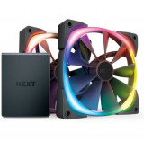 Ventilator NZXT Aer RGB 2, 140mm, 2 buc