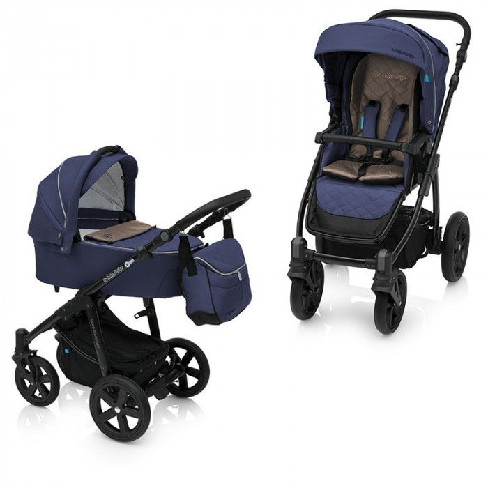 Carucior 2 in 1 Baby Design Lupo Comfort 03 Navy