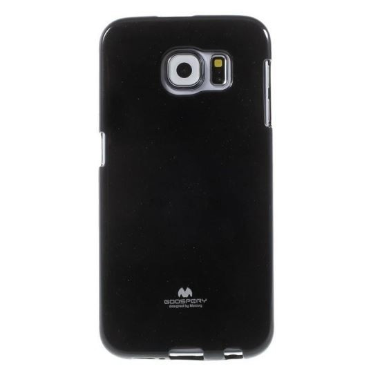 Husa Samsung Galaxy S6 Edge Plus Mercury TPU Jelly Case Negru