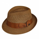 Palarie Bailey of Hollywood Wilshire Fedora Copper (Masura: L) - Cod 202902550
