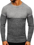 Pulover bărbați gri Bolf H1809
