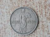 1 franc 1939 Luxemburg., Europa, Cupru-Nichel