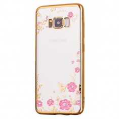 Husa SAMSUNG Galaxy S8 Plus - Diamond (Auriu) FORCELL