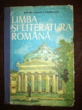 Limba si literatura romana. Manual pentru clasa a XII-a, Clasa 12, Limba Romana
