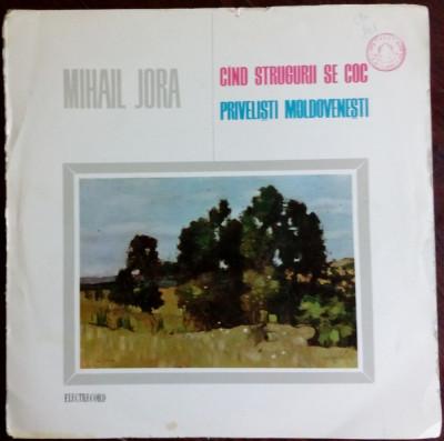 DISC LP: MIHAIL JORA - CAND STRUGURII SE COC / PRIVELISTI MOLDOVENESTI (ECE 038) foto