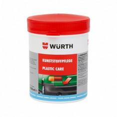 Ceara auto intretinere materiale plastice 1l Wurth foto
