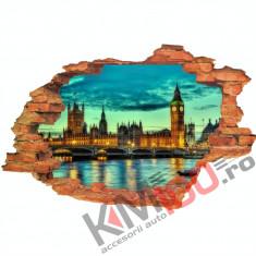 "Sticker ""Wall Crack"" Londra 14 - 120 x 80 cm"