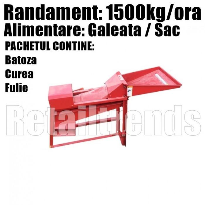 Sfarmatoare Batoza Desfacatoare Curatator Porumb 1500kg/ora FARA Motor
