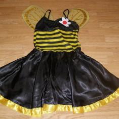 Costum carnaval serbare albina albinuta pentru adulti marime M, Din imagine