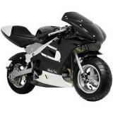 Motocicletă pentru copii MotoTec, Negru