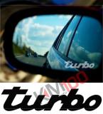 Stickere oglinda ETCHED GLASS - TURBO (set 3 buc.)