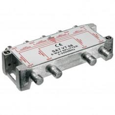 Spliter 8 cai semnal TV satelit Goobay, 100 dB, frecventa 2500 Mhz