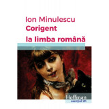 Corigent la limba romana | Ion Minulescu