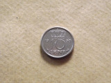 Olanda 10 Centi 1950, Europa, Nichel