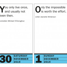 Calendar 2019 - The 365 Smartest Things Ever Said! | Workman Publishing