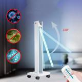 Lampa bactericida UVC 150W, portabila, cu brat mobil, timer si telecomanda, sterilizare suprafete, 120 mp