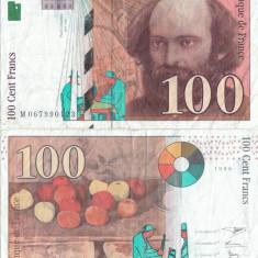 1998 , 100 francs ( P-158a.2 ) - Franţa