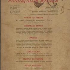 AS - REVISTA FUNDATIILOR REGALE ANUL XIV NR.2 FEBRUARIE 1947