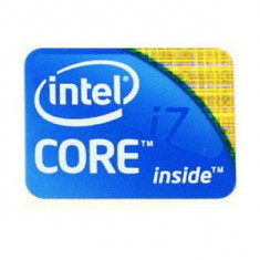 Sticker autocolant Intel Core I7
